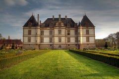 Castelo de Cormatin, France Imagens de Stock Royalty Free