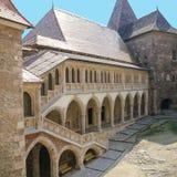 Castelo de Corvin, Hunedoara, a Transilvânia, Romênia Fotografia de Stock Royalty Free