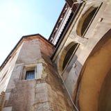Castelo de Corvin, Hunedoara, a Transilvânia, Romênia Foto de Stock Royalty Free