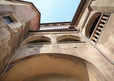 Castelo de Corvin, Hunedoara, a Transilvânia, Romênia Imagem de Stock