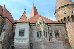 Castelo de Corvin, Hunedoara, a Transilvânia, Romênia Imagens de Stock Royalty Free