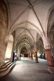 Castelo de Corvin Huniazilor de Hunedoara, Romênia foto de stock royalty free