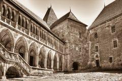 Castelo de Corvinesti Fotos de Stock
