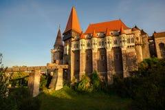 Castelo de Corvinesti foto de stock