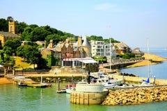 Castelo de Cowes, Wight das FO da ilha. Imagem de Stock