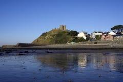 Castelo de Criccieth Imagem de Stock