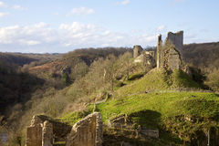 Castelo de Crozant Fotografia de Stock