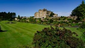 Castelo de Culzean, Escócia um castelo bonito que negligencia o delta de Clyde foto de stock