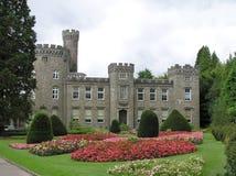 Castelo de Cyfarthfa fotografia de stock