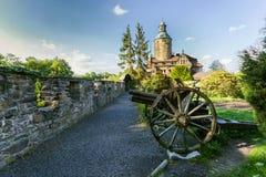 Castelo de Czoch imagem de stock