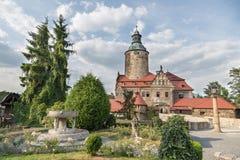 Castelo de Czocha no Polônia Fotos de Stock Royalty Free