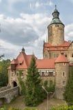Castelo de Czocha no Polônia Fotografia de Stock