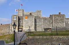 Castelo de Dôvar em Kent imagem de stock royalty free