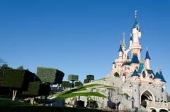 Castelo de Disneylâandia Paris Foto de Stock Royalty Free