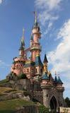 Castelo de Disneylâandia Paris-Princesse's Imagem de Stock Royalty Free