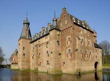 Castelo de Doorwerth Fotos de Stock Royalty Free