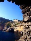 Castelo de Doria em Porto Venere imagem de stock