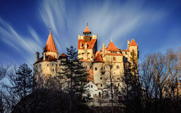Castelo de Dracula fotos de stock royalty free