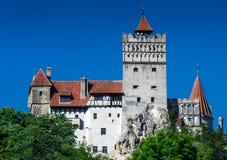 Castelo de Dracula, farelo, Romania imagens de stock
