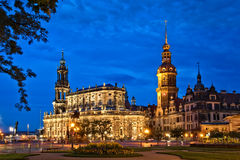 Castelo de Dresden imagens de stock