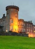 Castelo de Dromoland na noite Imagem de Stock