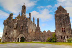 Castelo de Dromore no Limerick do Co. Foto de Stock