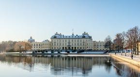 Castelo de Drottningholm Fotos de Stock Royalty Free