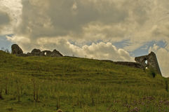 Castelo 4 de Dryslwyn Fotos de Stock
