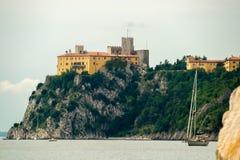 Castelo de Duino Fotografia de Stock