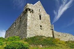 Castelo de Dunasead em Baltimore fotografia de stock