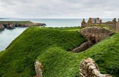 Castelo de Dunnottar fotos de stock royalty free