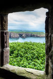 Castelo de Dunnottar foto de stock