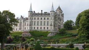Castelo de Dunrobin em Reino Unido fotografia de stock