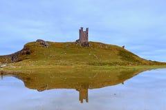 Castelo de Dunstanburgh Fotografia de Stock Royalty Free