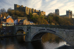 Castelo de Durham e catedral, Durham Foto de Stock