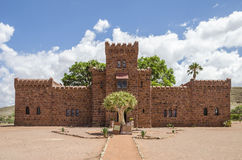 Castelo de Duwisib em Namíbia Foto de Stock Royalty Free