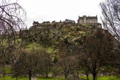 Castelo de Edimburgo Foto de Stock Royalty Free