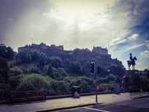 Castelo de Edimburgo Fotos de Stock