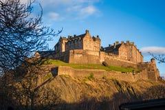 Castelo de Edimburgo foto de stock