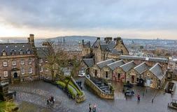 Castelo de Edimburgo Fotografia de Stock Royalty Free