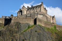 Castelo de Edimburgo, Scotland, Reino Unido fotografia de stock