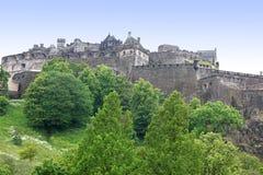 Castelo de Edimburgo, Scotland, Reino Unido Imagens de Stock Royalty Free