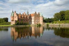 Castelo de Egeskov Foto de Stock Royalty Free