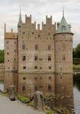 Castelo de Egeskov em Dinamarca Foto de Stock Royalty Free