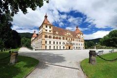 Castelo de Eggenberg em Graz fotos de stock royalty free