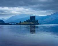 Castelo de Eilan Donan imagem de stock