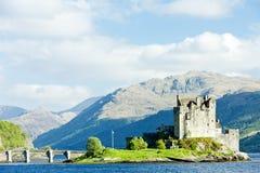 Castelo de Eilean Donan Foto de Stock Royalty Free