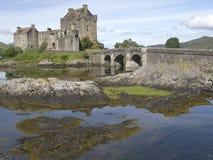 Castelo de Eilean Donan Fotografia de Stock Royalty Free