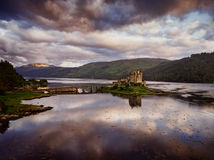 Castelo de Eilean Donan Imagem de Stock Royalty Free