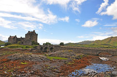Castelo de Eilean Donan, Scotland Foto de Stock
